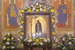 Престольный праздник в храме прп. Серафима Саровского
